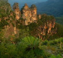 The Sisters with fernery by Michael Matthews