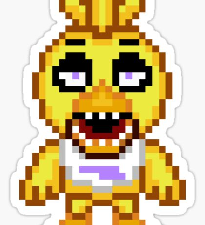 Five Nights at Freddy's - Chica Mini Pixel Sticker
