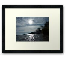 water and sky II Framed Print