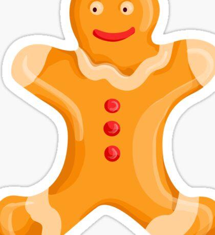 Gingerbread Men Sticker
