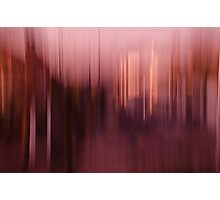 Motion Blurs - Window View No. 4 Photographic Print