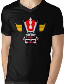 Mekkachibi Grendizer Mens V-Neck T-Shirt