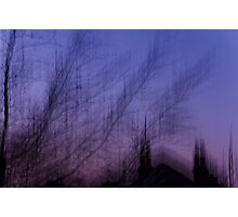 Motion Blurs - Window View No. 7 Photographic Print