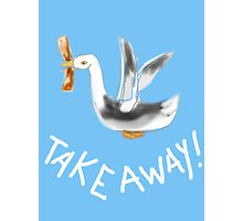 TAKE AWAY BIRD Photographic Print