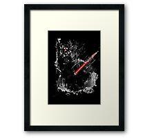 Darth Vader: Paint Framed Print