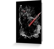 Darth Vader: Paint Greeting Card
