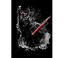 Darth Vader: Paint Photographic Print