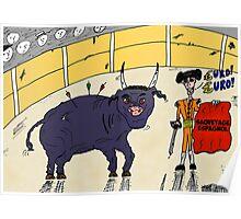 Nouvelles Options Binaires en BD - Le sauvetage de l'Espagne par l'Euro Poster