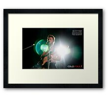 Matt Corby - The Winter Tour Framed Print