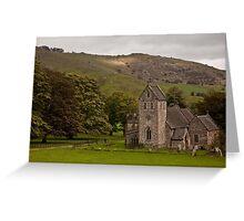 Mountain Churchs Greeting Card