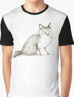 Swift Fox Sketch Graphic T-Shirt