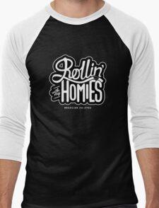 Brazilian jiu-jitsu (BJJ) Rollin' With My Homies Men's Baseball ¾ T-Shirt