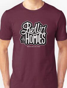 Brazilian jiu-jitsu (BJJ) Rollin' With My Homies T-Shirt