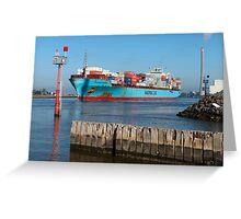 Grasmere Maersk Greeting Card