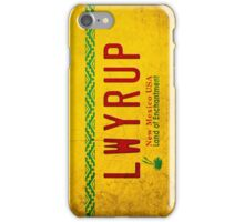 LWYRUP (Breaking Bad, Better Call Saul) iPhone Case/Skin