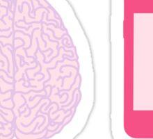 Girl's Brain Pattern Sticker