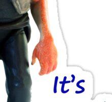 Jar Jar Star wars action figure Sticker