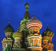 Saint Basil's Cathedral, Moscow by KUJO-Photo