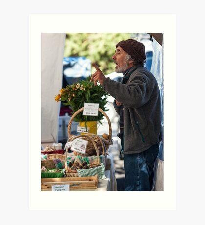 Farmers Market 2 Art Print
