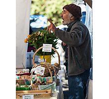Farmers Market 2 Photographic Print