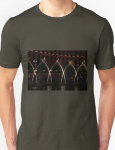 Night Kisses In Water Unisex T-Shirt