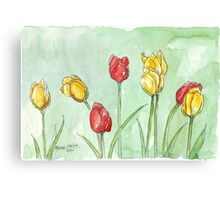 If I was a Tulip Canvas Print
