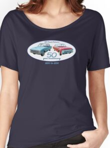 XM Falcon 50 year anniversary (white background) Women's Relaxed Fit T-Shirt