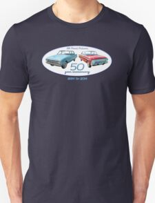 XM Falcon 50 year anniversary (white background) T-Shirt