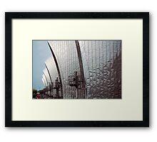 Thames Barrier, London Framed Print