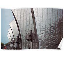 Thames Barrier, London Poster