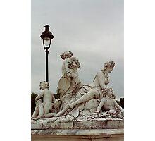 Sculptures, Paris Photographic Print