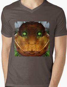DUCK....Tree Bark genus :) Mens V-Neck T-Shirt