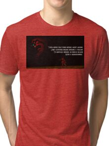 You May Notice... Tri-blend T-Shirt