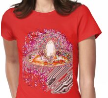 CANDLE LECTRO REDS/ TEE SHIRT/STICKER/KIDS TEE Womens Fitted T-Shirt