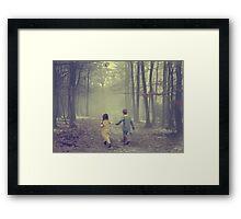 In My Friend, I Find A Second Self.... Framed Print