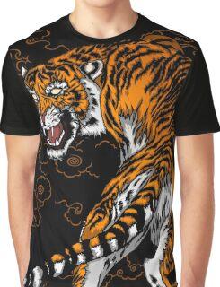 TIGER RAGE Graphic T-Shirt