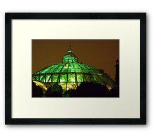 Royal Glasshouse, Brussels Framed Print