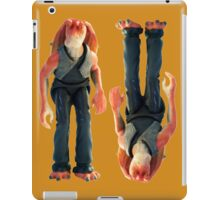 Jar Jar Star wars action figure iPad Case/Skin