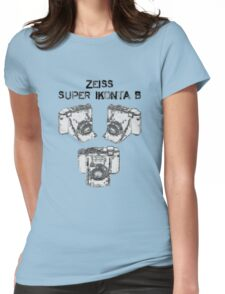 Zeiss Super Ikonta B Womens Fitted T-Shirt