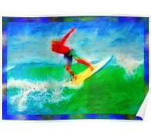 GRADIENT SURFER # 2 Poster