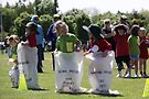 Sporting Sack Race by coffeebean