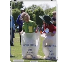 Sporting Sack Race iPad Case/Skin