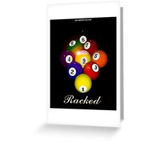 Racked Greeting Card