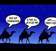 Funny 3 wise men Christmas by Sevetheapeman