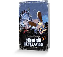 Silent Hill Revelation Poster Greeting Card