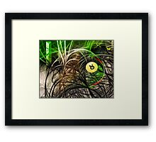Weaved Framed Print