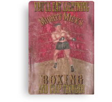 Mighty Mick's Boxing Canvas Print