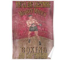 Mighty Mick's Boxing Poster