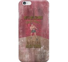 Mighty Mick's Boxing iPhone Case/Skin