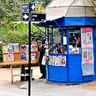 chile, typical kiosk, by Daidalos